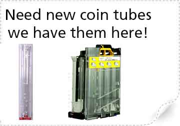 Coin Changer Tubes