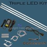 LED Vending Machine Lighting Kit Triple Strips