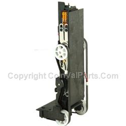 Stacker/Drive Belt Assembly with Motor