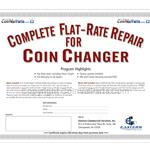 Flat-Rate coin changer repair